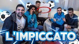 INDOVINA il CALCIATORE CHALLENGE con l'IMPICCATO!!! - w/ Fius Gamer, Ohm, T4tino23