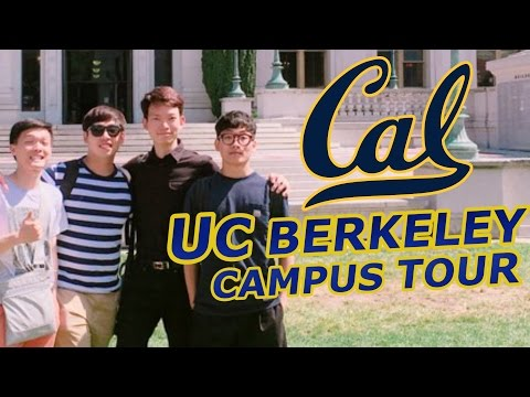 UC BERKELEY CAMPUS TOUR!!!