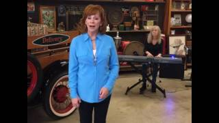 reba @ cracker barrel - rockin