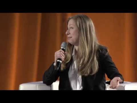 Chelsea Clinton Hosts Panel at Conference on Volunteering and Service