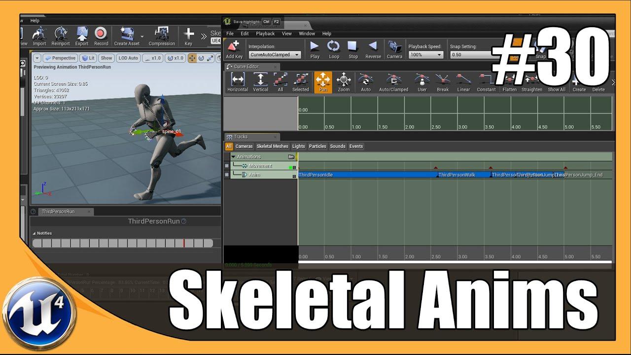 Unreal engine 4 beginner tutorial series 30 matinee skeletal mesh unreal engine 4 beginner tutorial series 30 matinee skeletal mesh animation youtube malvernweather Gallery