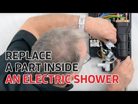 Electric Showers Replacing A Part Inside A Triton