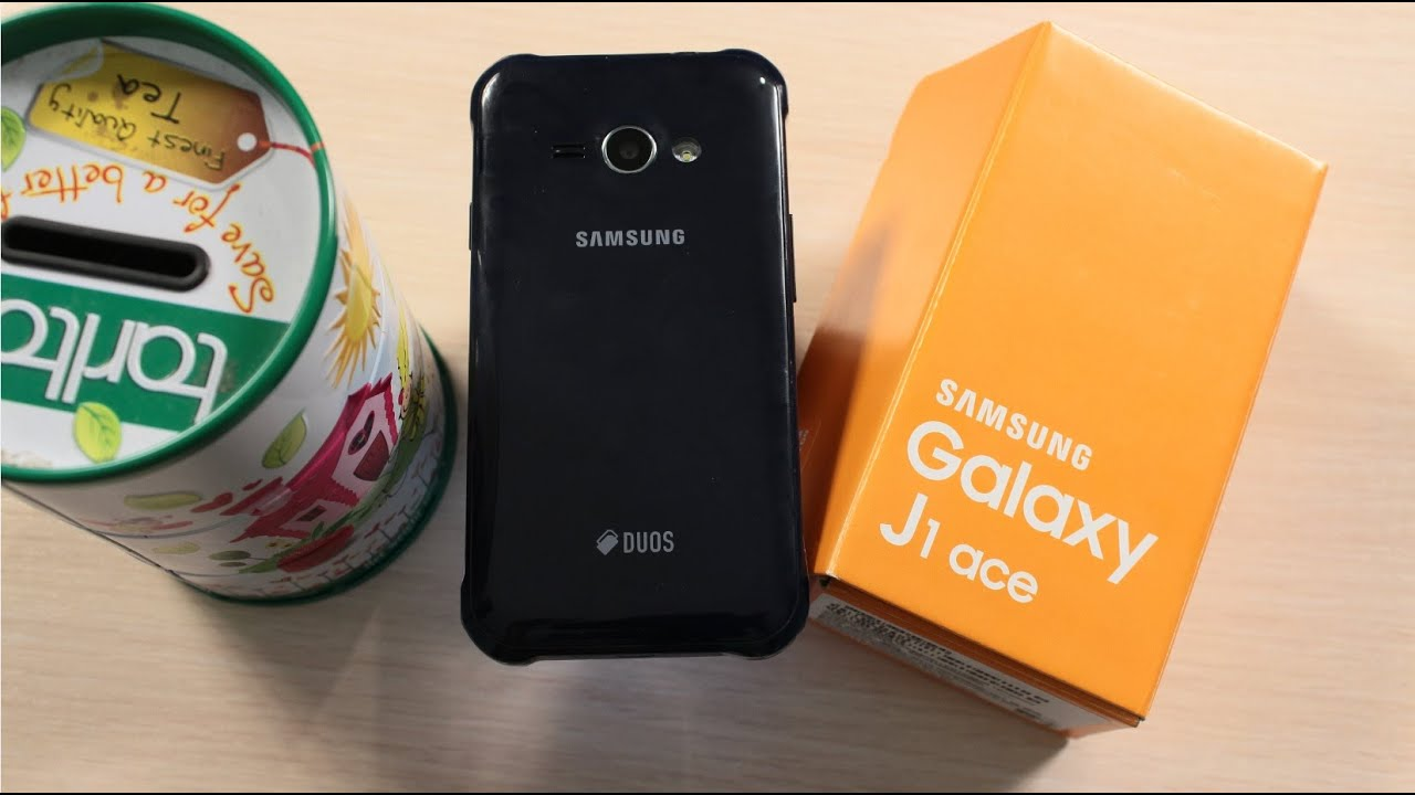 Samsung Galaxy J1 Ace Duos J110 Black Обзор