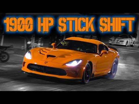 Near 8-Second Nasty TT Viper Goes Haywire, Rows Gears