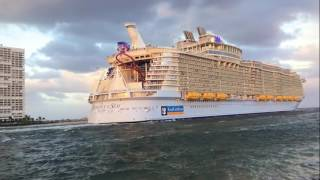 Harmony Of The Seas - Port Everglades Florida - November 5 2016