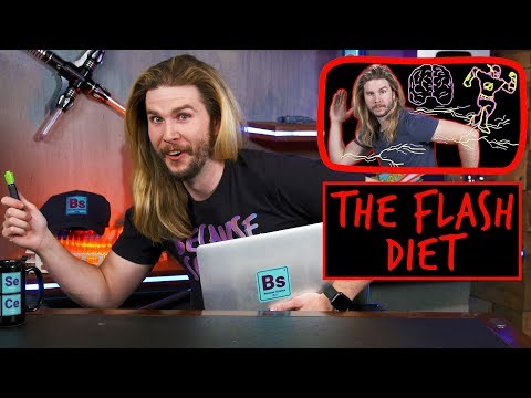 The Flash's 12,000,000 Calorie Diet | Because Science Footnotes