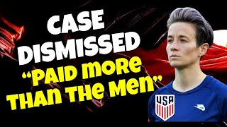 US Women's Soccer Equal Pay Claims vs Facts.  Court says they got paid more than the Men. 😲