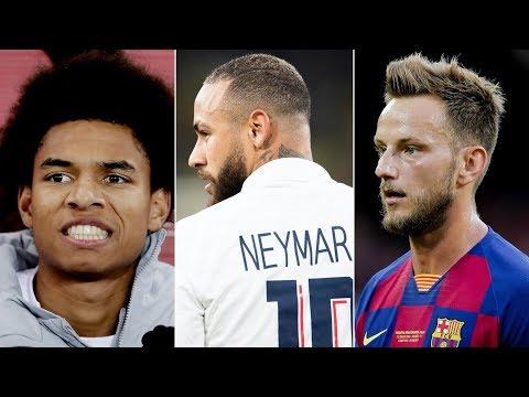 Barcelona Transfer Latest ft Neymar Jr, Calvin Stengs & Ivan Rakitic