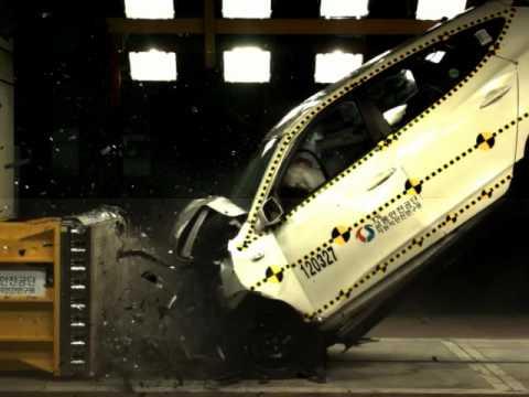 Speed Rating H >> HYUNDAI_TUCSON_IX(IX35) High Speed Crash Test(100km/h) - YouTube