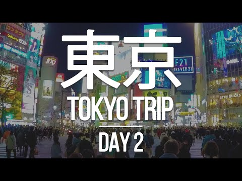 TOKYO TRIP 🇯🇵 - Day 2 - Shinjuku, Meiji Shrine, Harajuku, and amazing Okonomiyaki in Shibuya