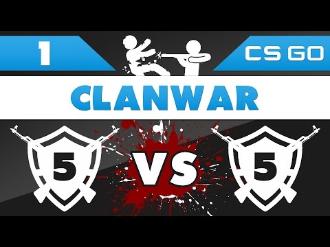 CS:GO Clanwar #01 - CCL-Gaming vs Alpha Tactics [TEIL 1] (german/deutsch) [HD/1080p]