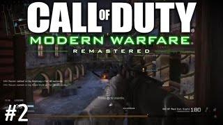 Call of Duty Modern Warfare Remastered {2} WINTER WONDERLAND!