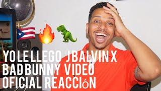 Yo Le Llego   J Balvin X Bad Bunny  Video Oficial  reacción