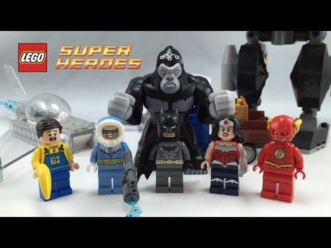 LEGO Justice League 2015 Gorilla Grodd Goes Bananas review! 76026