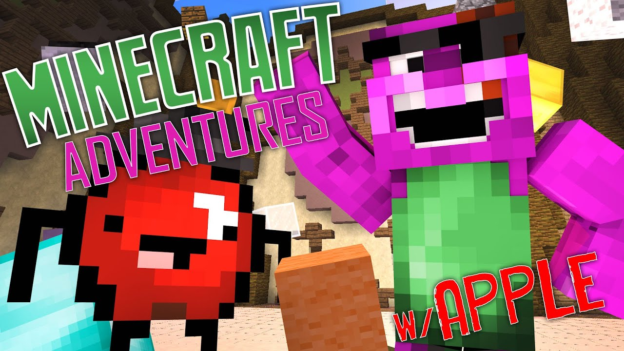 Apple The Great Minecraft Adventures With Apple Youtube