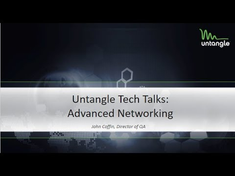 Tech Talks: Advanced Networking