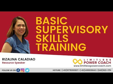 Basic Supervisory Skills Training Full Course Teaser for Digital Product 06.26.2020