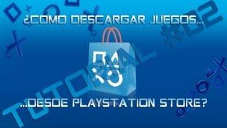 Descargar Juegos en Playstation Store  PS3 - Tutorial 02 - por Hu0r