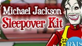 Michael Jackson Sleepover Kit- PMS Home Shopping Network