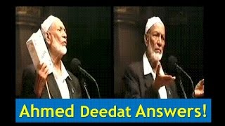 Ahmad Deedats Amazing Answers to 2 Questions