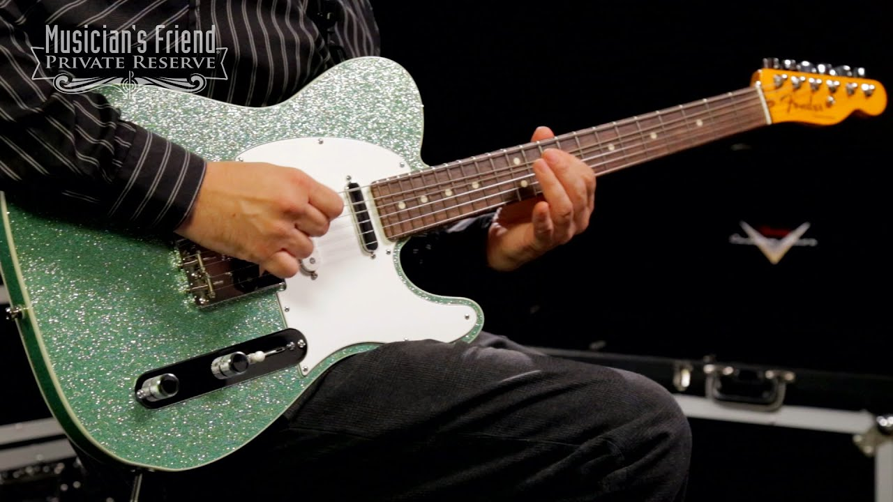 fender custom shop nashville american telecaster electric guitar youtube. Black Bedroom Furniture Sets. Home Design Ideas