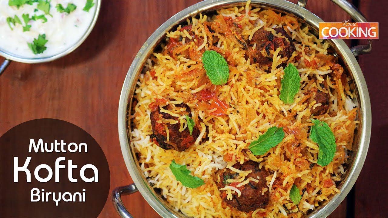 Kofta Biryani Mutton Kofta Biryani Ramadan Special Mutton