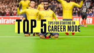 Top 5 Beginner Tips for FIFA 20 Career Mode