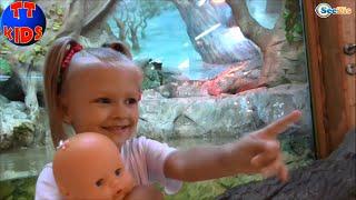 ✔ Nenuco Doll and Yaroslava are having a good time in the Oceanarium  Ярослава Часть 2 Серия 49