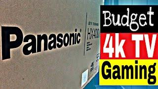 Unboxing budget friendly 4k smart tv Panasonic 55 inches Ultra HD smart TV TH-55HX400X