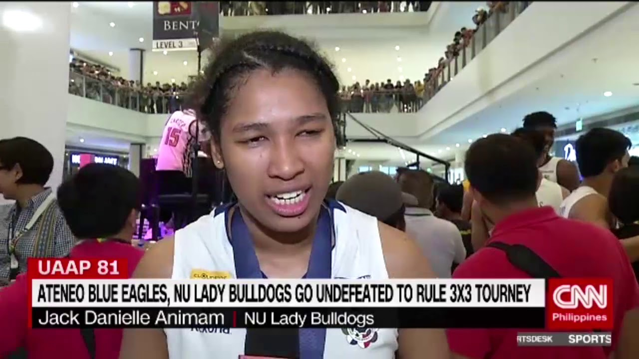 Ateneo Blue Eagles, NU Lady Bulldogs go undefeated to rule 3x3 tourney