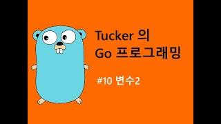 컴맹을 위한 Go 언어 프로그래밍 강좌 10 - Go 의 변수2