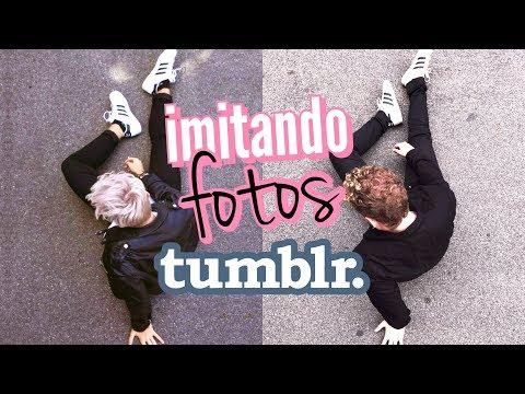 Imitando/Copiando as famosas fotos Tumblr