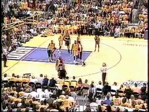 2000 Blazers Lakers Game 7 (Part 3) - YouTube