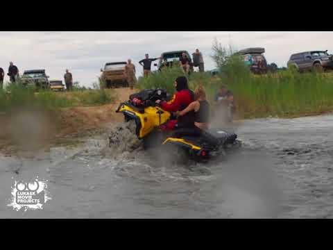 Can Am Outlander 800 off road w wodzie Piknik Lipiany