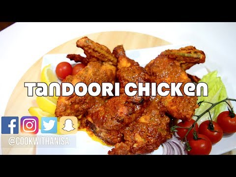 Tandoori Chicken Quick and Easy Recipe | Indian Cooking Recipes | Ramadan Recipe @CookwithAnisa