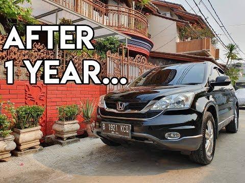 1 Tahun Bersama Honda CR-V Gen 3 2012 2400cc SECOND + Perawatan 6 Bulan Scuto