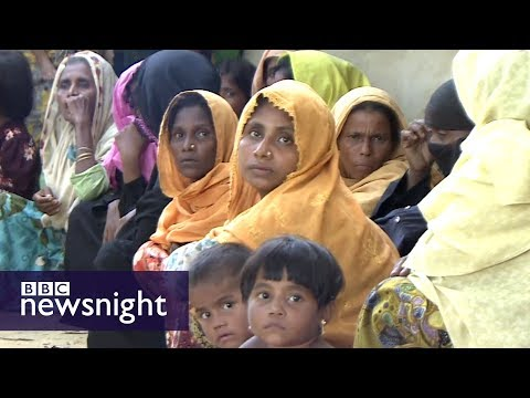 Tales of horror from Myanmar - BBC Newsnight