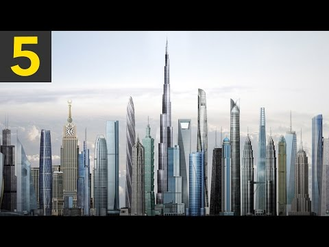 Top 5 Tallest Buildings on Earth (updated)