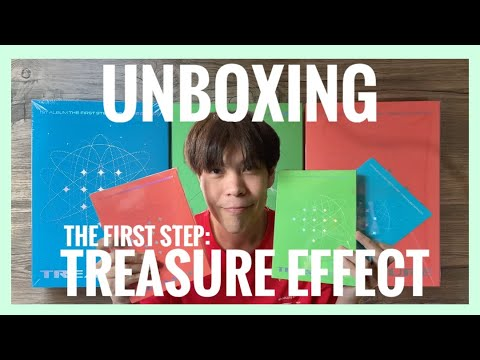 [Unboxing] แกะอัลบั้ม TREASURE  THE FIRST STEP : TREASURE EFFECT 💎  POPofPatriot