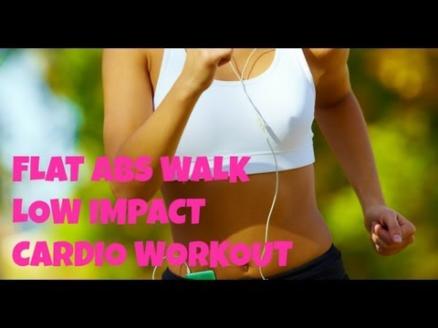 Flat Abs Walk - Full Length 40 Minute Walking Workout for Flat Abs