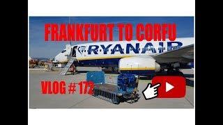 Frankfurt to Corfu with Ryanair