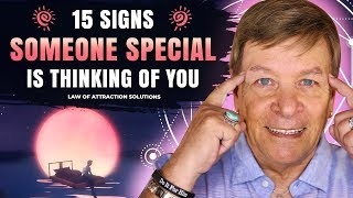 ✅ 15 Signs Someone Is Thinking About You - Law of Attraction - Robert Zink