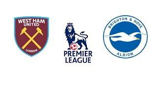 Вест хэм Брайтон 3 - 3 обзор матча 01.02.2020 прямой эфир West Ham vs Brighton live