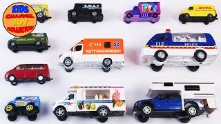 Learn VANS For Kids Children Toddlers Babies | Vehicles for Kids | Preschool Video | Educational Toy
