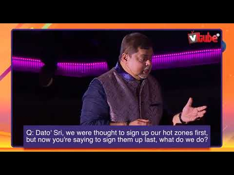 Dato Sri Vijay Eswaran | On Prospecting Hot Zones | VCON 2018 thumbnail