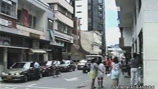 Despues del Terremoto bajando la 25 Calarca Quindio 1999