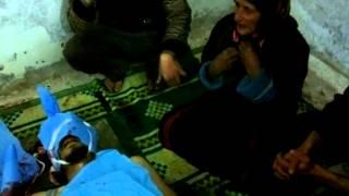 ريف حماة طيبة الامام والدة الشهيد ترثي ابنها 6 1 2013