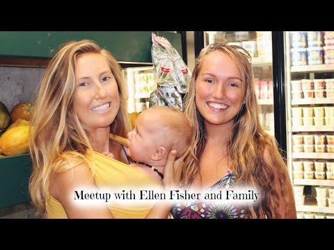 Meetup With Ellen Fisher in Maui, Ft. Her Vegan Family!