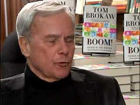 BoomerGirl Tom Brokaw interview