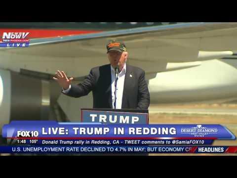FULL SPEECH: Donald Trump in Redding, CA
